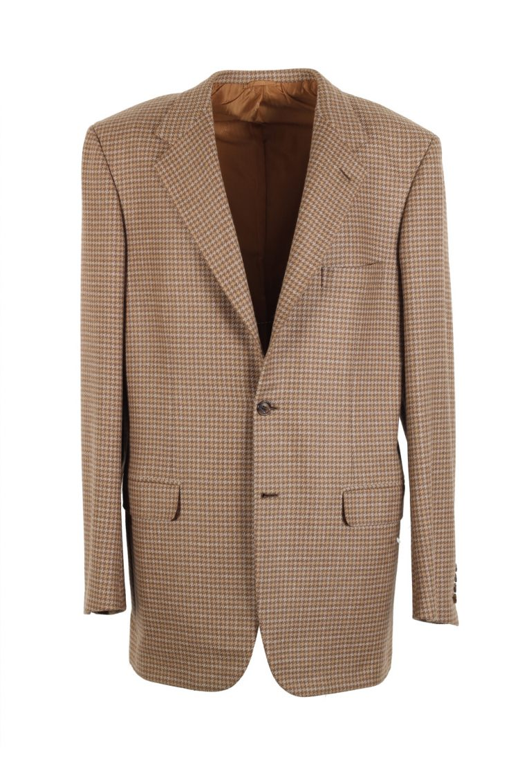 Brioni Beige Palatino Sport Coat Size 52 / 42R U.S. 100% Cashmere - thumbnail | Costume Limité