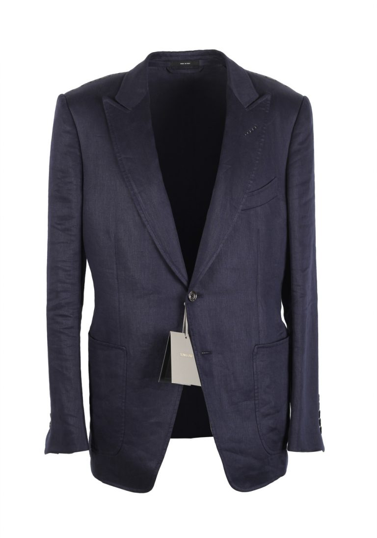 TOM FORD O'Connor Navy Sport Coat Size 52C / 42S U.S. Fit W - thumbnail | Costume Limité