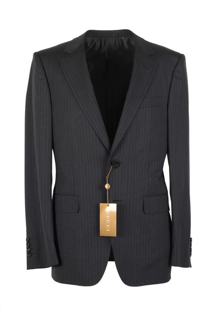 Gucci Navy Suit Size 44 / 34R U.S. Wool - thumbnail | Costume Limité