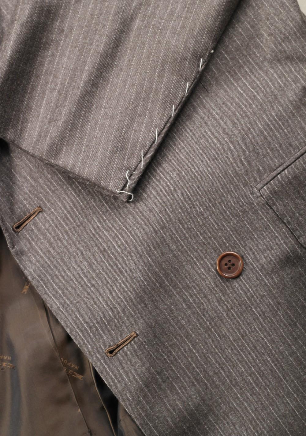 Kiton Suit Size 50 / 40R U.S. 100% Cashmere Double Breasted | Costume Limité