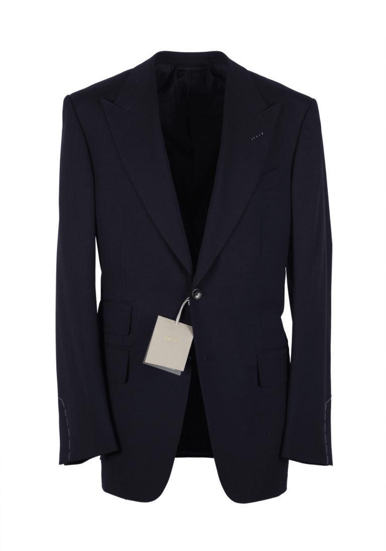 TOM FORD Windsor Navy Suit Size 58 / 48R U.S. Wool Fit A - thumbnail | Costume Limité