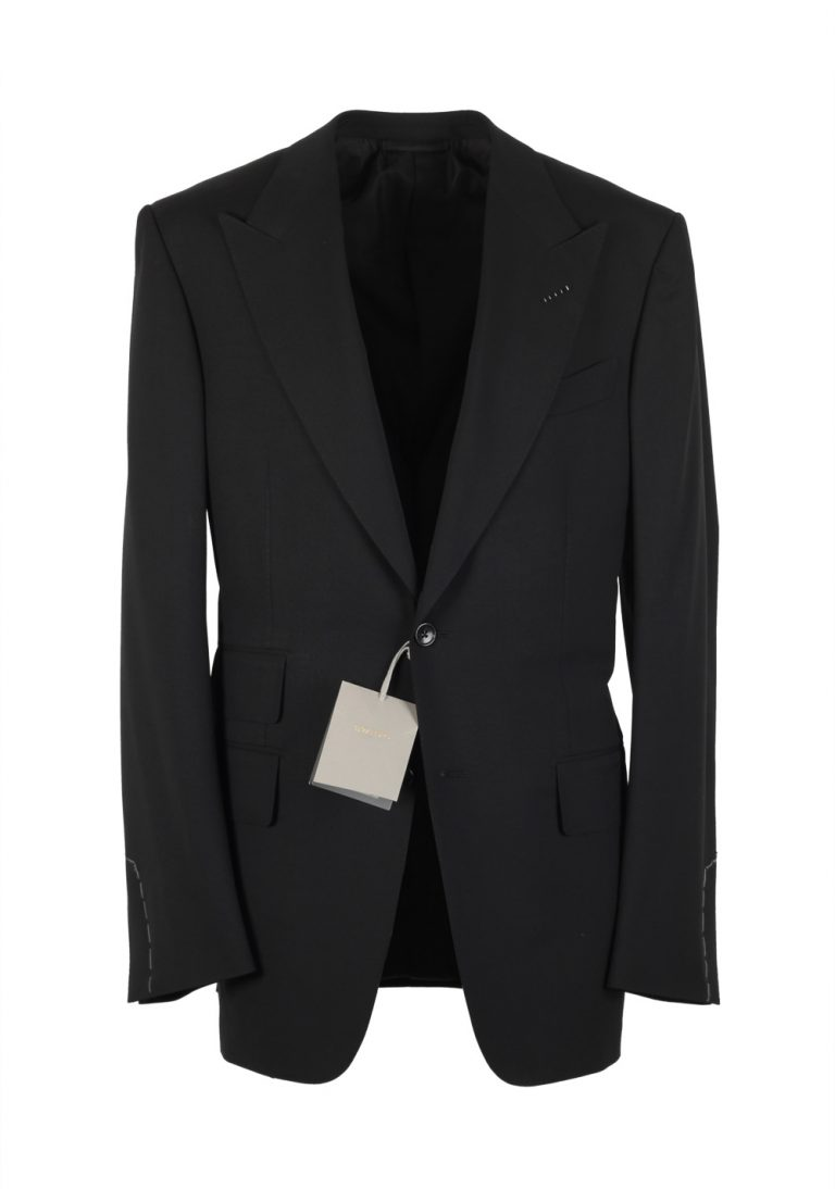 TOM FORD Windsor Black Suit Size 58L / 48L U.S. Wool Fit A - thumbnail | Costume Limité