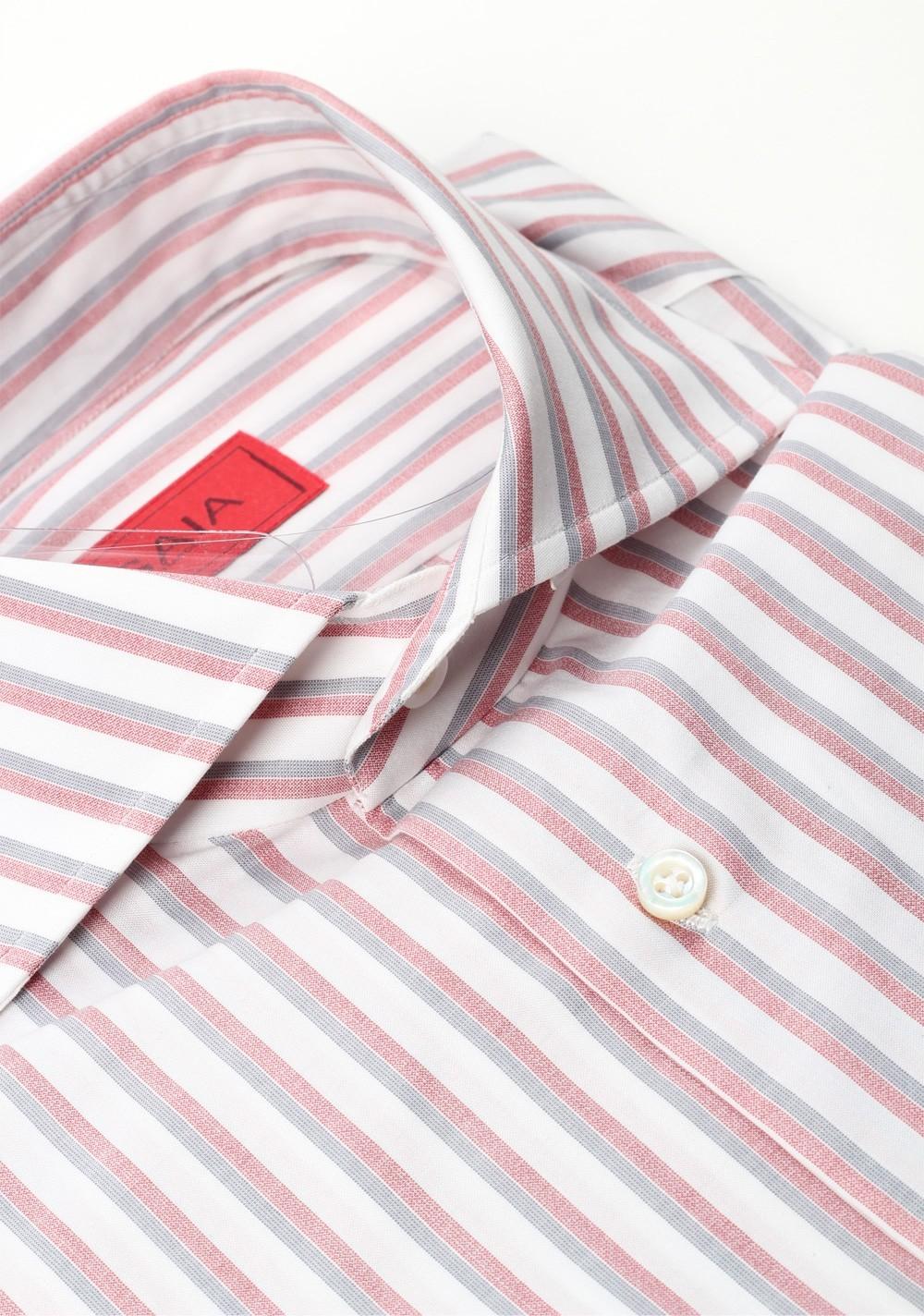 Isaia Shirt Size 40 / 15,75 U.S. | Costume Limité