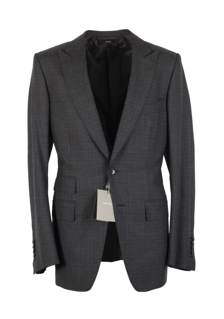 TOM FORD O'Connor Gray Suit Size 48 / 38R U.S. Wool Fit W - thumbnail | Costume Limité