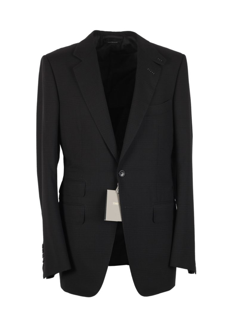TOM FORD O'Connor Charcoal Suit Size 48 / 38R U.S. Wool Fit W - thumbnail | Costume Limité