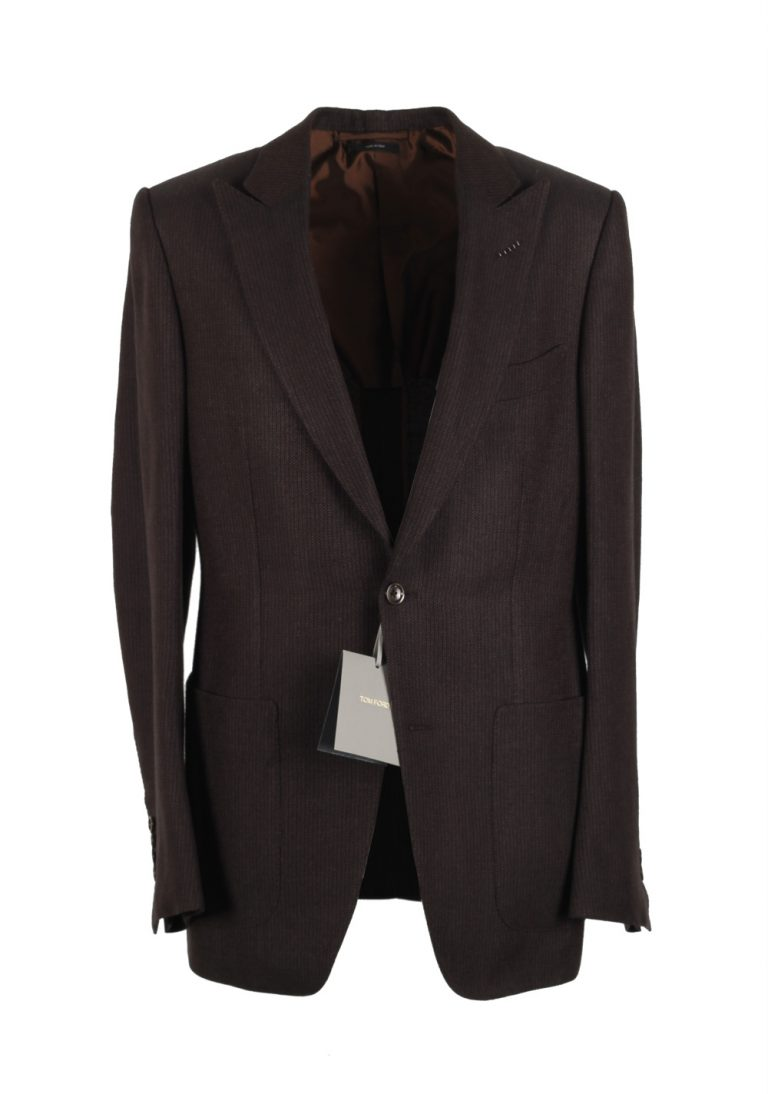 TOM FORD O'Connor Brown Sport Coat Size 48 / 38R U.S. Fit W - thumbnail | Costume Limité