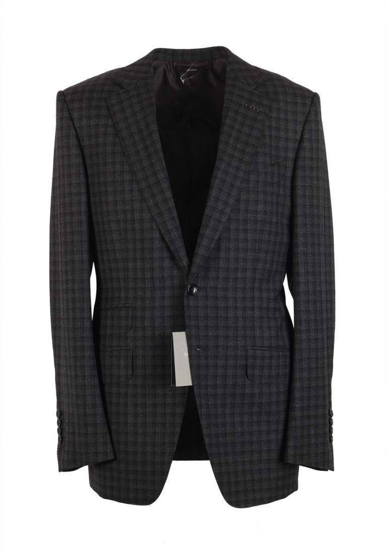 TOM FORD O'Connor Gray Sport Coat Size 48 / 38R U.S. Wool Fit S - thumbnail | Costume Limité