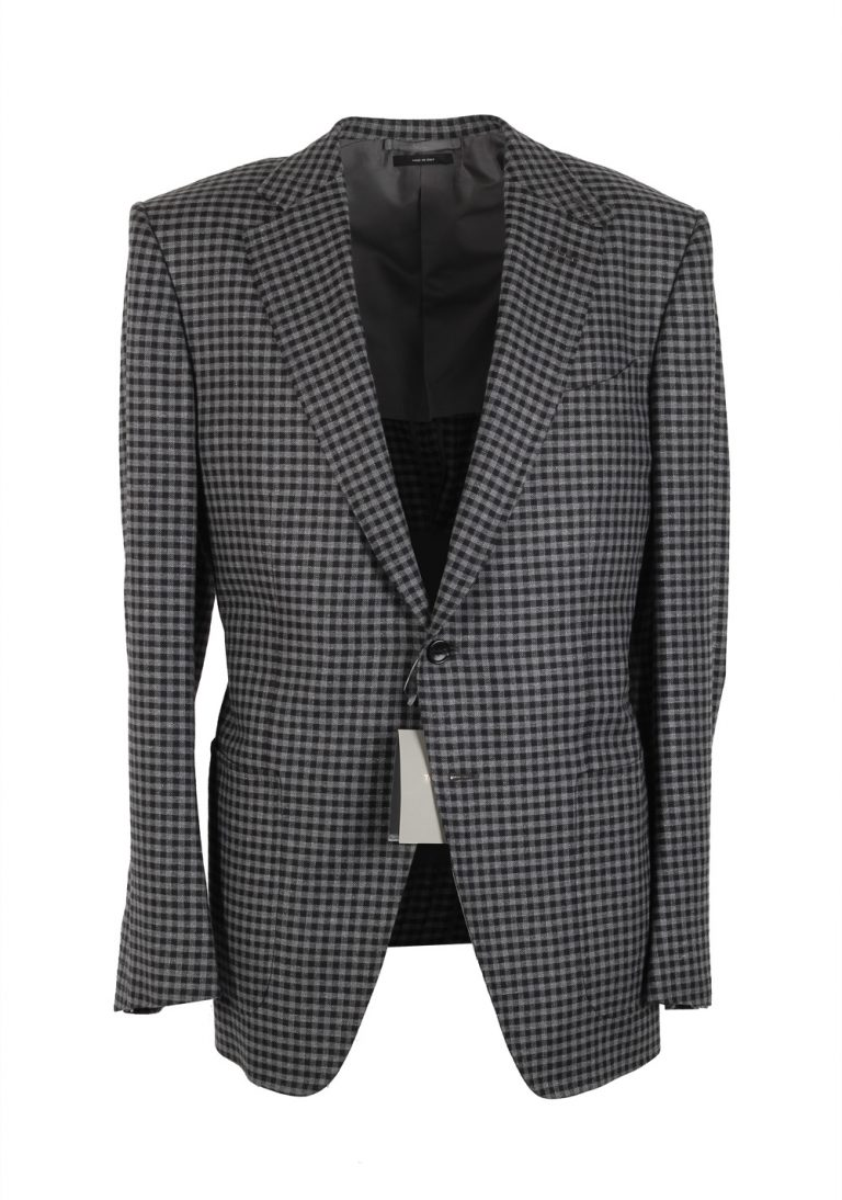 TOM FORD O'Connor Gray Sport Coat Size 50 / 40R U.S. Silk Wool Linen Fit Y - thumbnail | Costume Limité