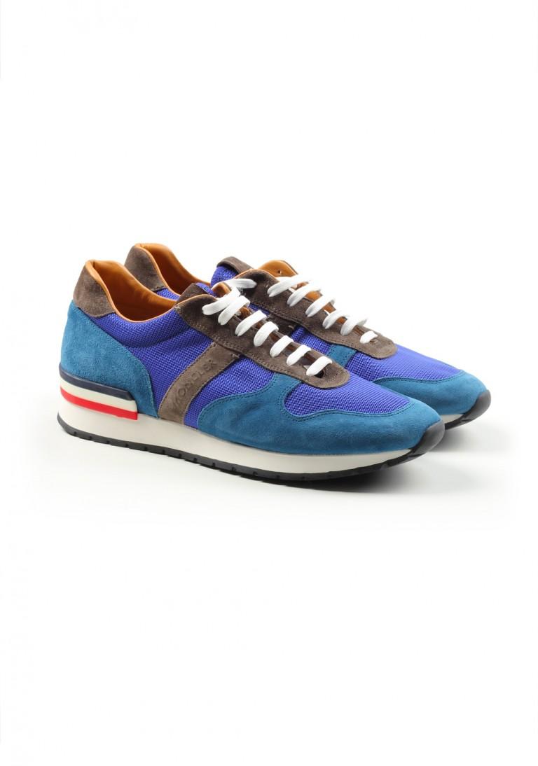 Moncler Suede Sneakers Shoes Size 39 Eur / 6 U.S. / 5 U.K. - thumbnail | Costume Limité