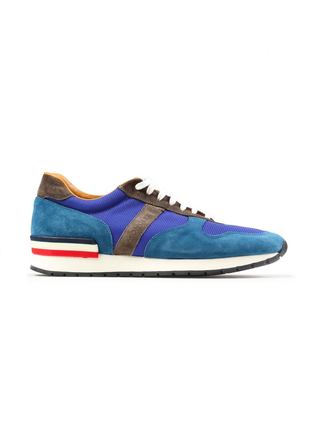 Moncler Suede Sneakers Shoes Size 39 Eur / 6 U.S. / 5 U.K. | Costume Limité