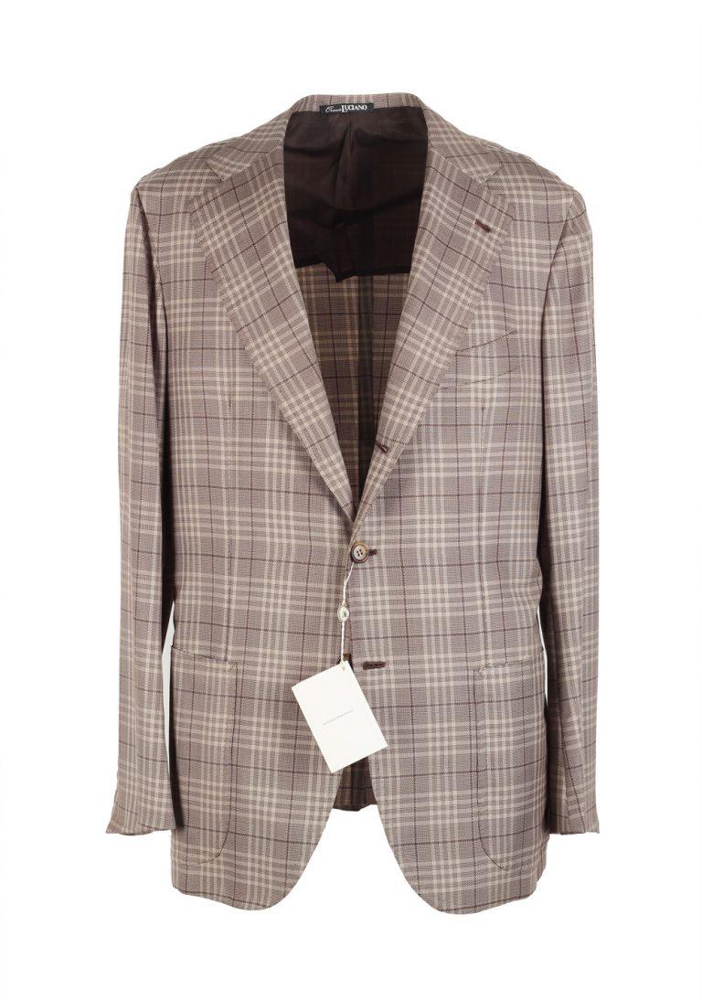 Orazio Luciano La Vera Sartoria Napoletana Sport Coat Size 50 / 40R U.S. Linen Silk - thumbnail | Costume Limité