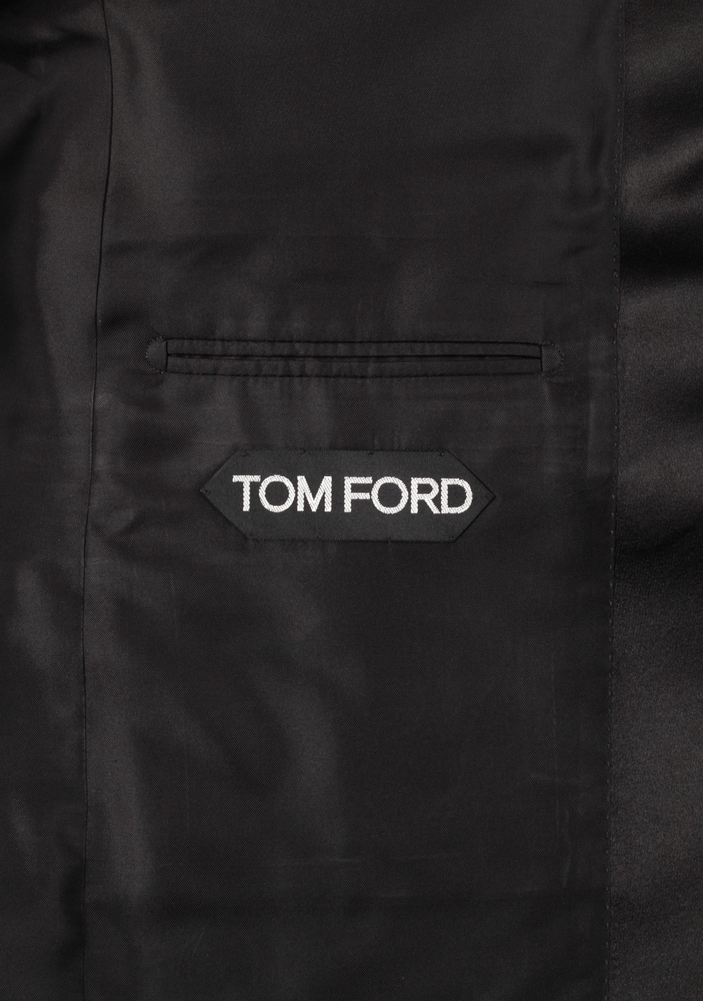 tom ford black tuxedo smoking suit size 58 48r u s. Black Bedroom Furniture Sets. Home Design Ideas