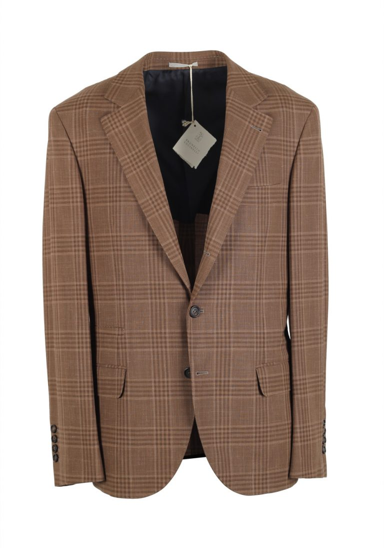 Cucinelli Beige Sport Coat Size 48 / 38R U.S. Wool Linen - thumbnail | Costume Limité