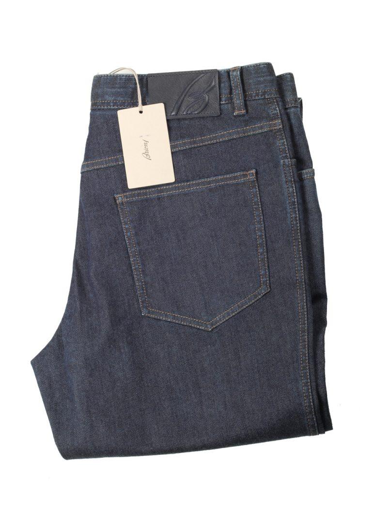 Brioni Blue Jeans Stelvio Trousers Size 52 / 36 U.S. - thumbnail | Costume Limité