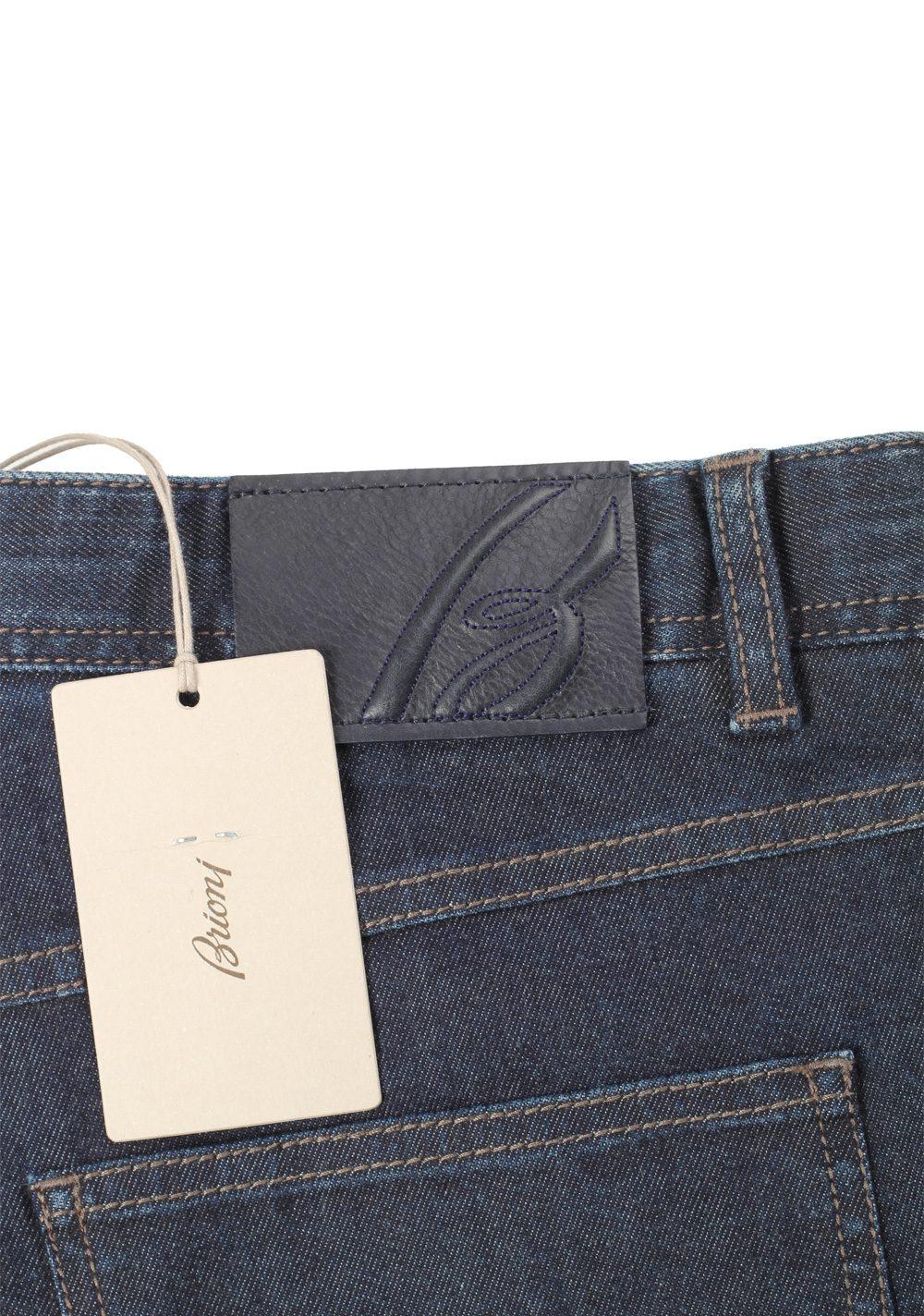 Brioni Blue Jeans Stelvio Trousers Size 52 / 36 U.S. | Costume Limité