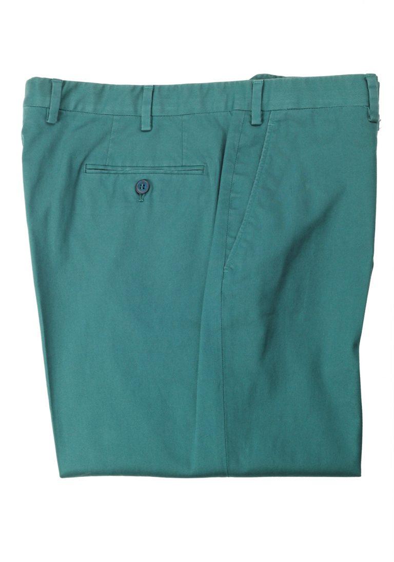 Brioni Green Tigullio Trousers Size 54 / 38 U.S. - thumbnail | Costume Limité