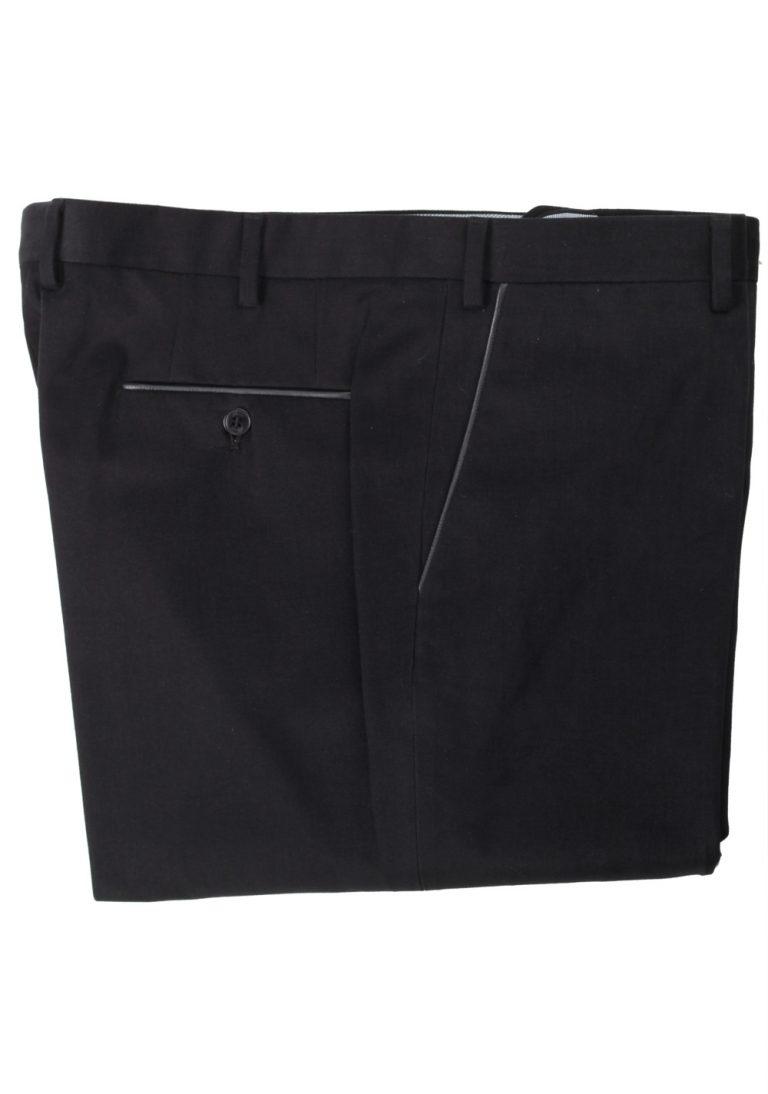 Brioni Black Tigullio Trousers Size 58 / 42 U.S. - thumbnail | Costume Limité