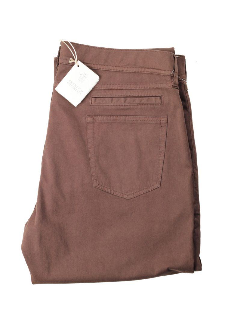 Brunello Cucinelli Brown Trousers Size 52 / 36 U.S. - thumbnail | Costume Limité