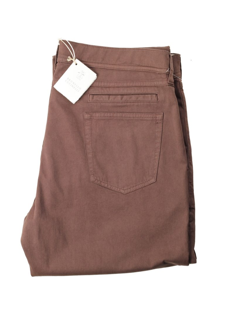 Brunello Cucinelli Brown Trousers Size 56 / 40 U.S. - thumbnail | Costume Limité