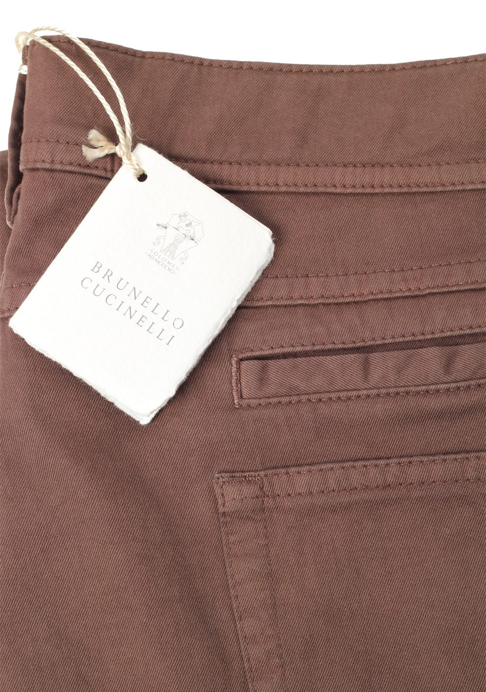 Brunello Cucinelli Brown Trousers Size 56 / 40 U.S. | Costume Limité