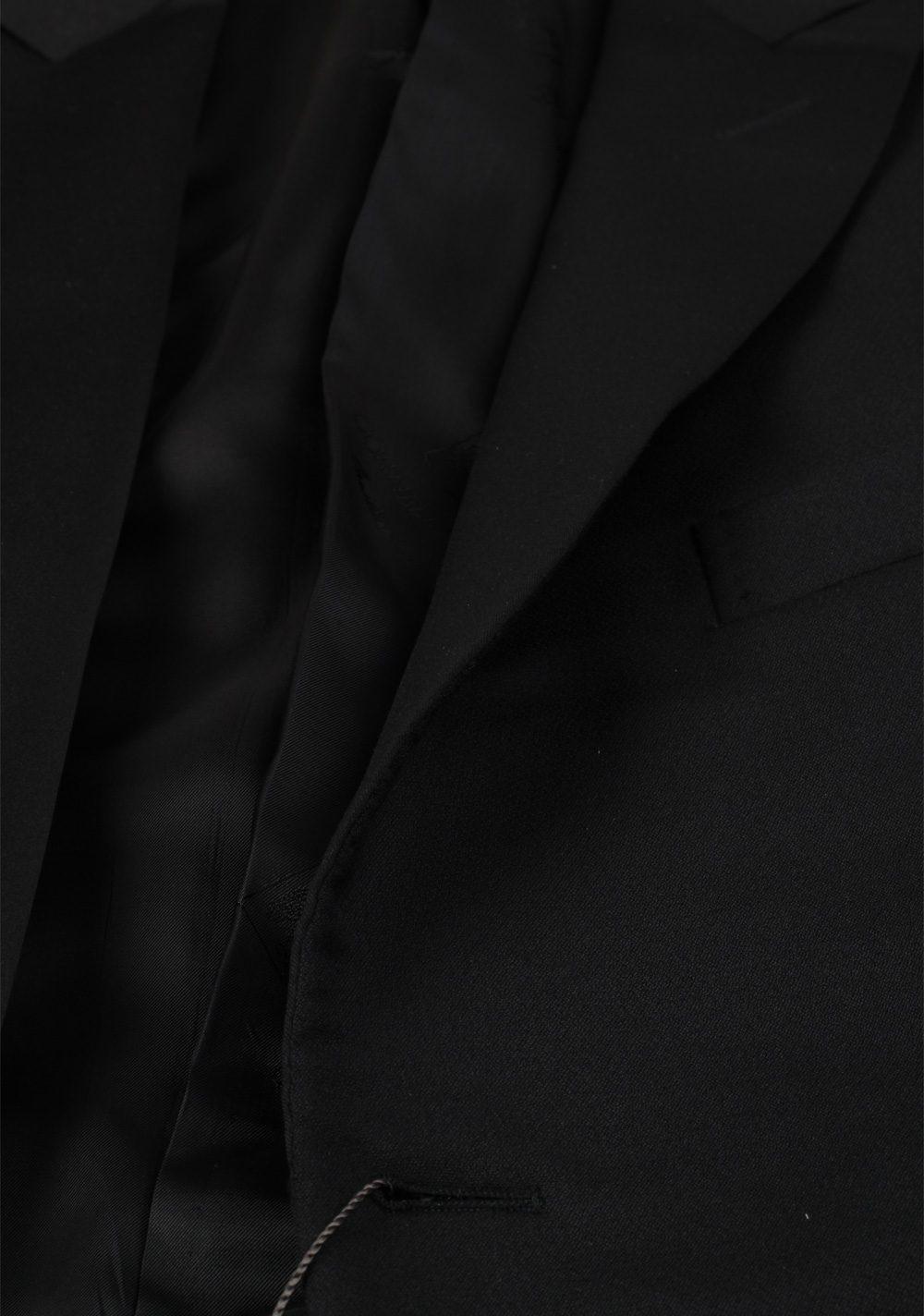 Corneliani Black Tuxedo Sport Coat Size 56 / 46R U.S. Virgin Wool | Costume Limité