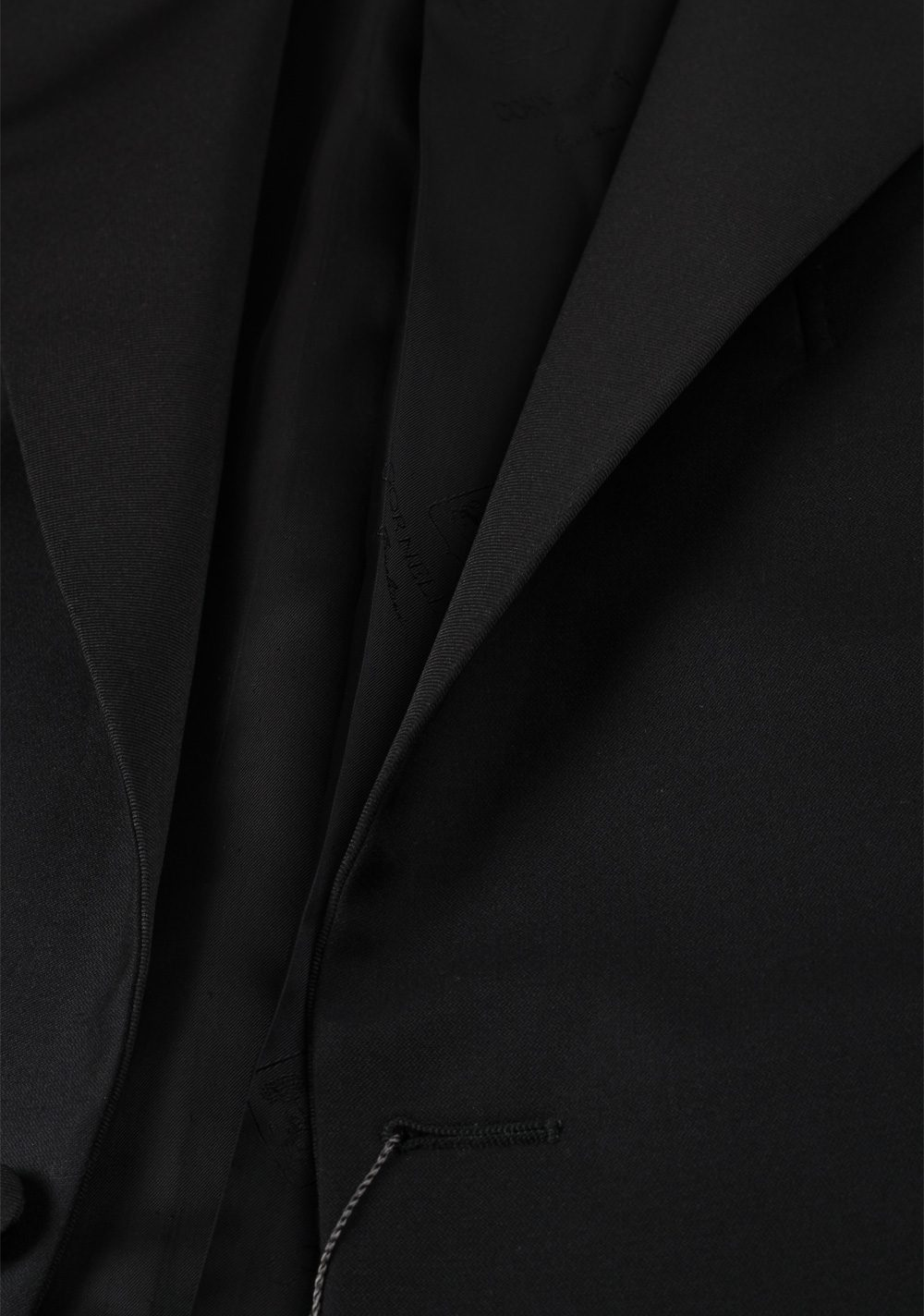 Corneliani Black Tuxedo Sport Coat Size 56L / 46L U.S. Super 140s | Costume Limité
