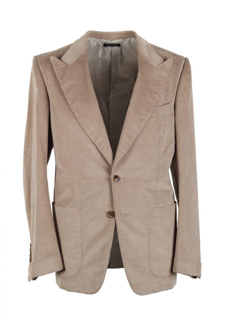 TOM FORD Alexander Corduroy Sport Coat Size 48 / 38R U.S. Fit Z - thumbnail   Costume Limité