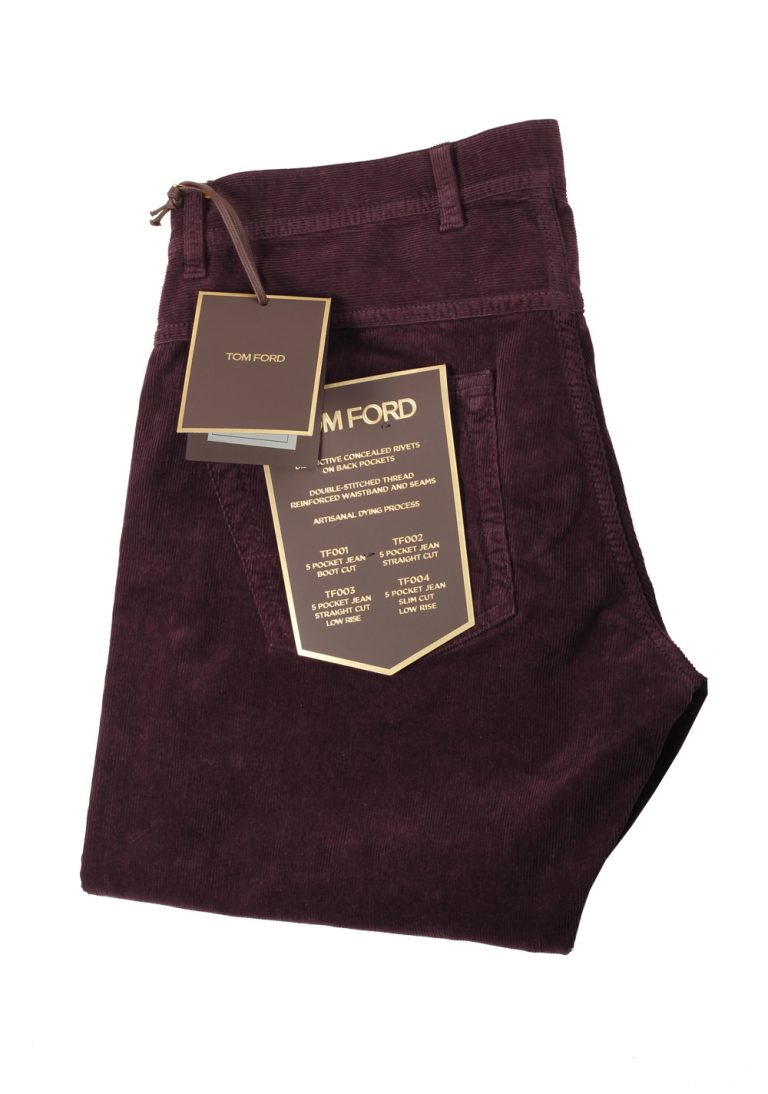 TOM FORD Aubergine Jeans TFD003 Size 52 / 36 U.S. - thumbnail | Costume Limité