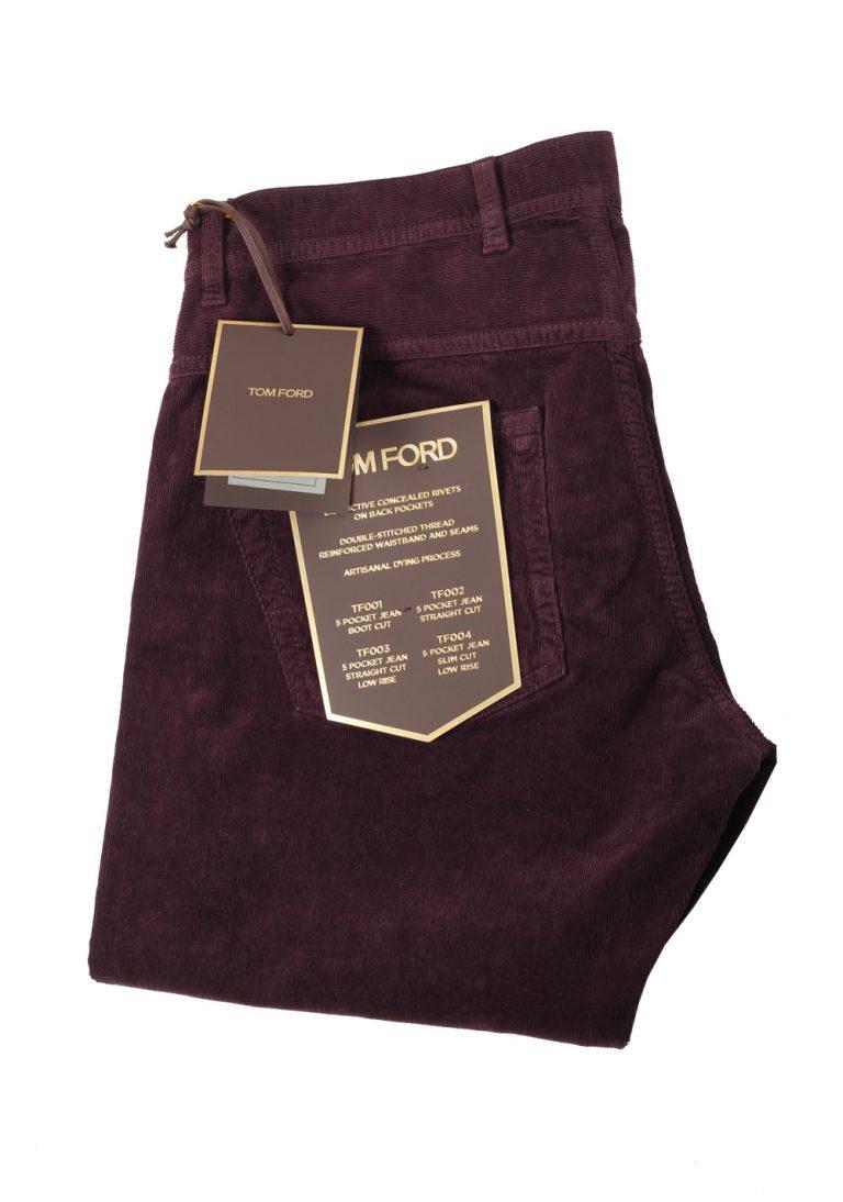 TOM FORD Aubergine Jeans TFD003 Size 54 / 38 U.S. - thumbnail | Costume Limité