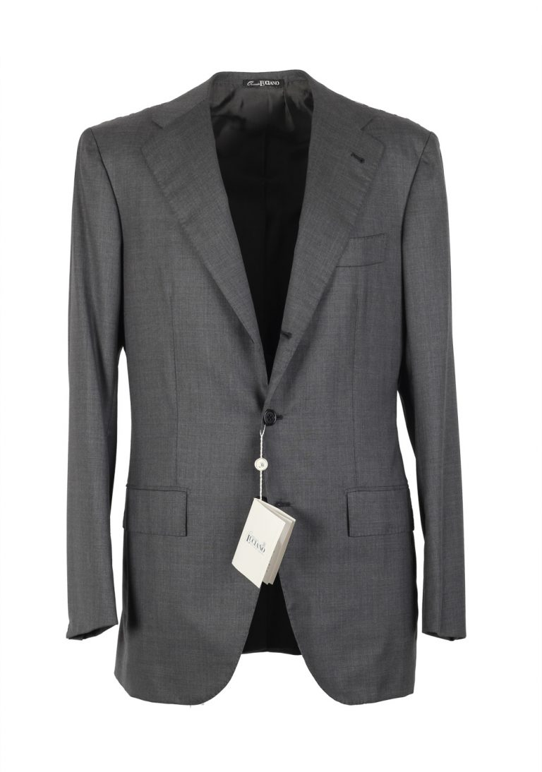 Orazio Luciano La Vera Sartoria Napoletana Suit Size 46L / 36L U.S. - thumbnail | Costume Limité