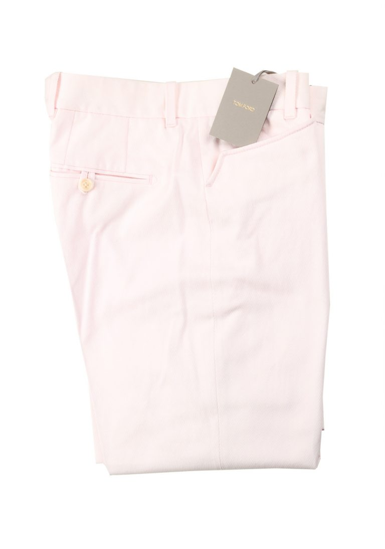 TOM FORD Pink Trousers Size 48 / 32 U.S. - thumbnail | Costume Limité