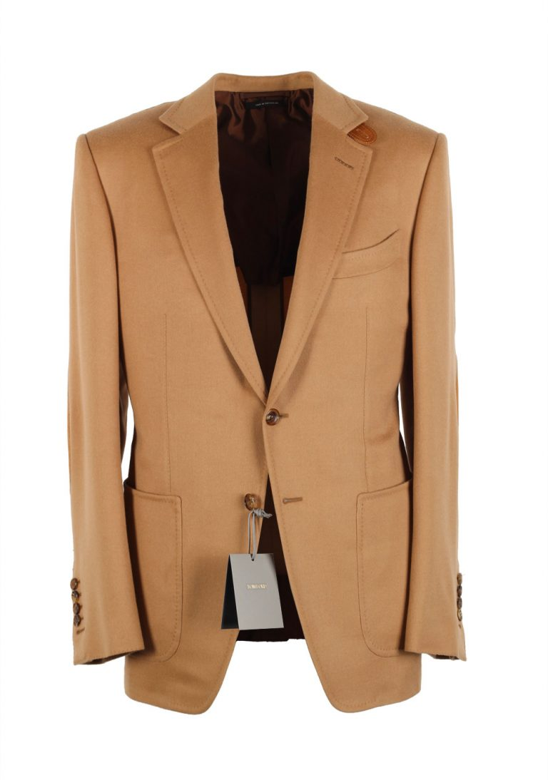 TOM FORD O'Connor Camel Sport Coat Size 48 / 38R U.S. Fit Y in 100% Cashmere - thumbnail | Costume Limité