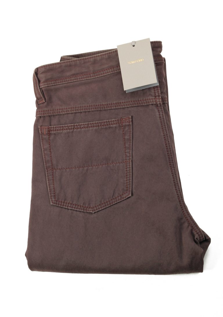 TOM FORD Brown Jeans Trousers Size 48 / 32 U.S. - thumbnail | Costume Limité