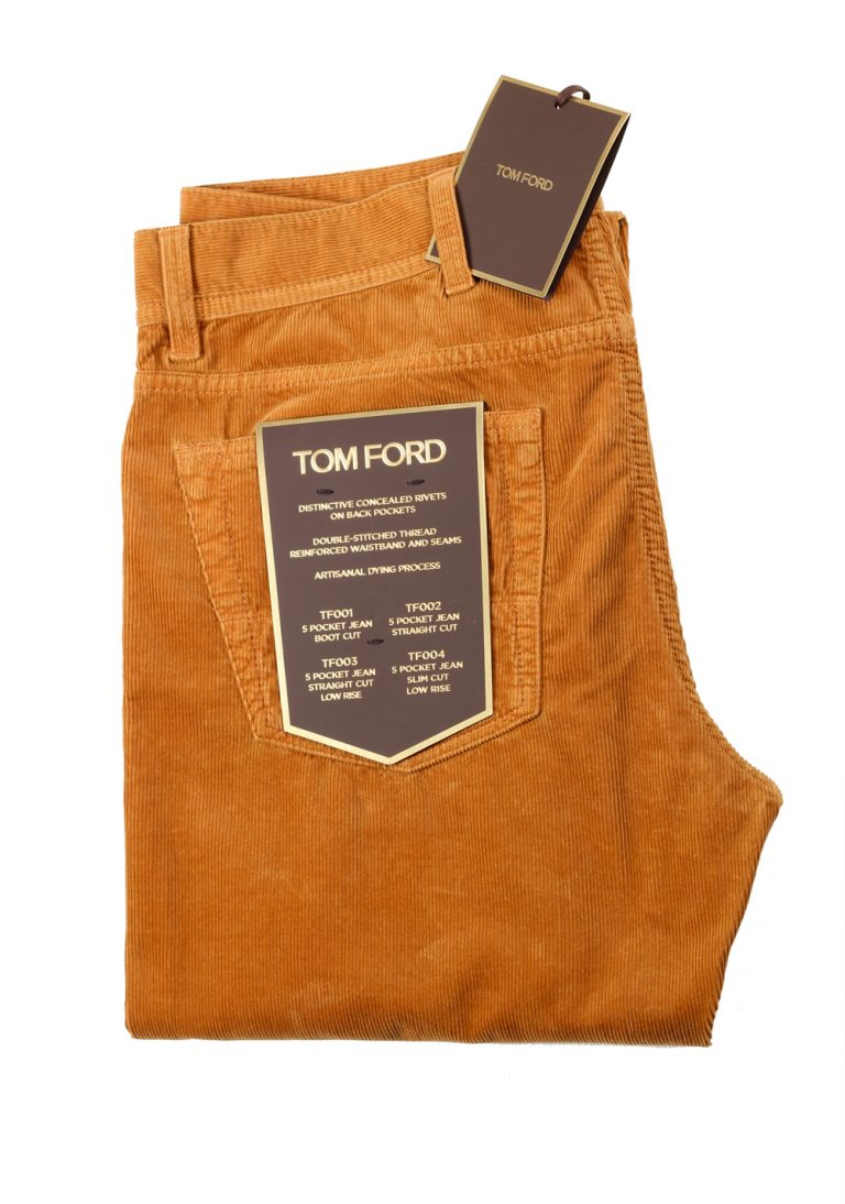 TOM FORD Ochre Jeans TFD005 Size 48 / 32 U.S. - thumbnail | Costume Limité