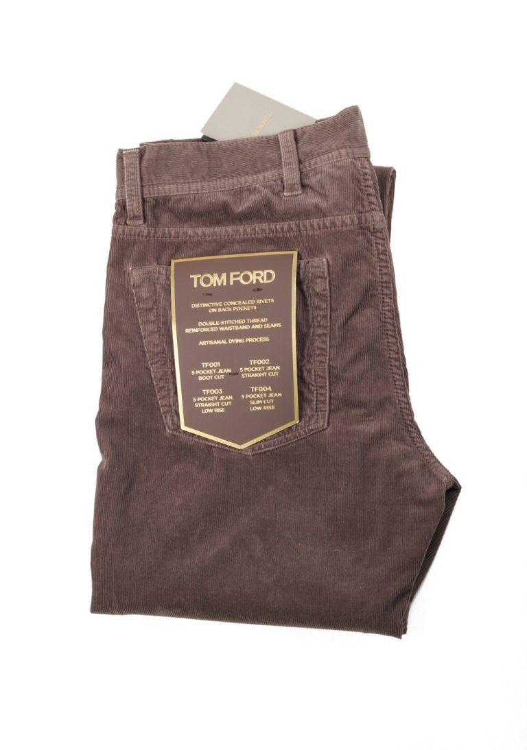 TOM FORD Brownish Gray Jeans TFD005 Size 48 / 32 U.S. - thumbnail | Costume Limité