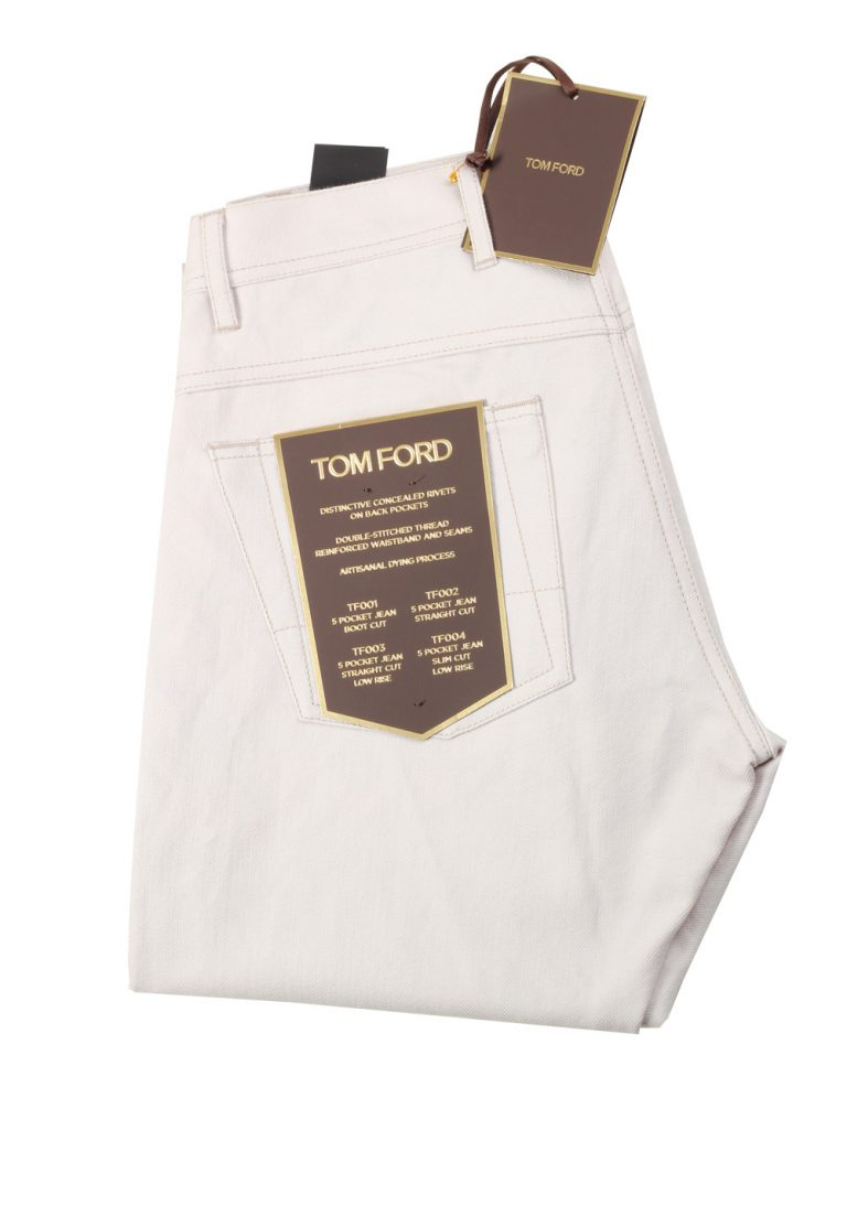 TOM FORD Light Gray Jeans TFD003 Size 46 / 30 U.S. - thumbnail | Costume Limité