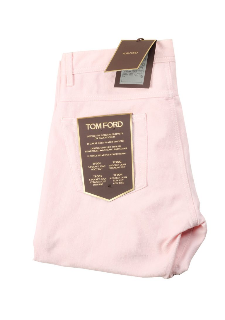 TOM FORD Pink Jeans TFD002 Size 48 / 32 U.S. - thumbnail | Costume Limité