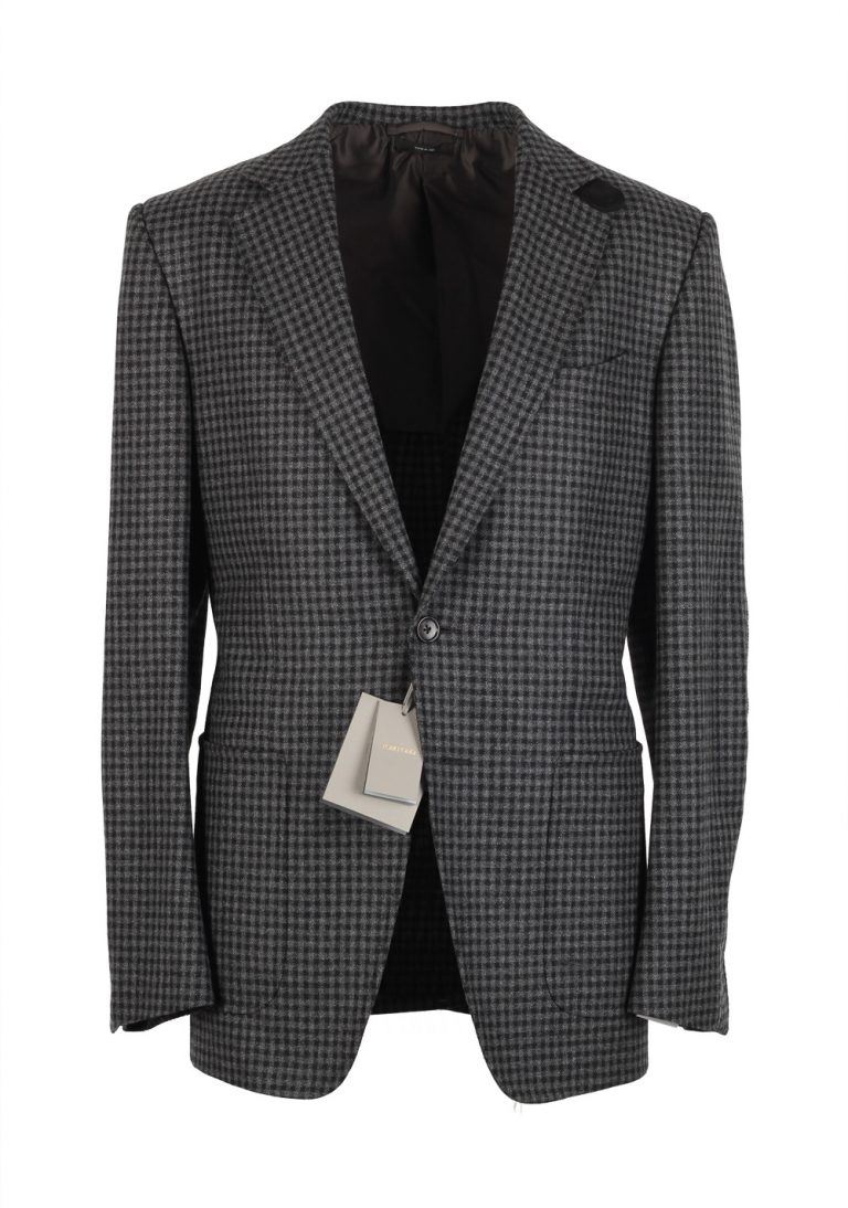 TOM FORD O'Connor Gray Sport Coat Size 50 / 40R U.S. Wool Fit Y - thumbnail | Costume Limité