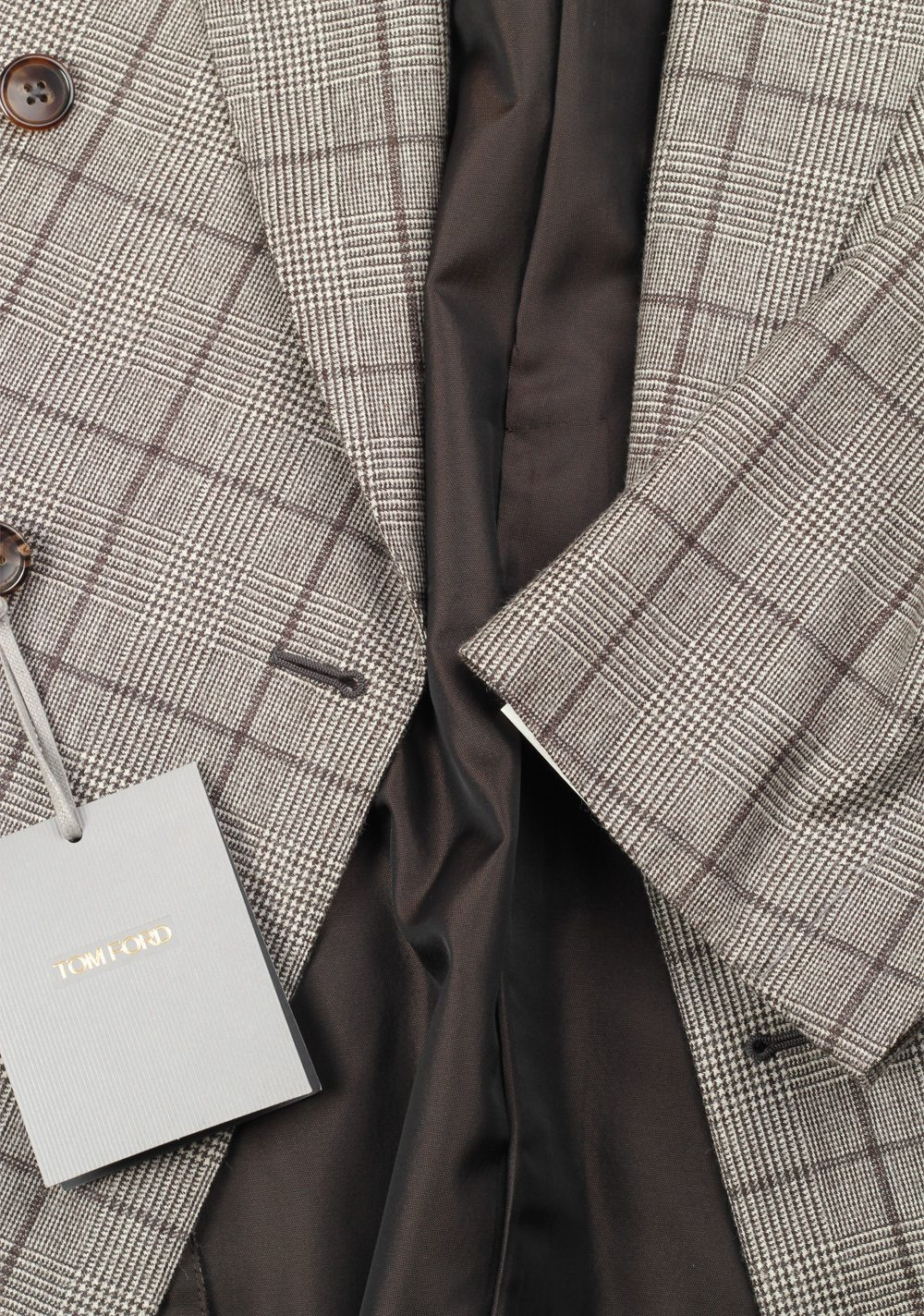 Tom Ford Windsor Double Breasted Sport Coat Size 56 46r