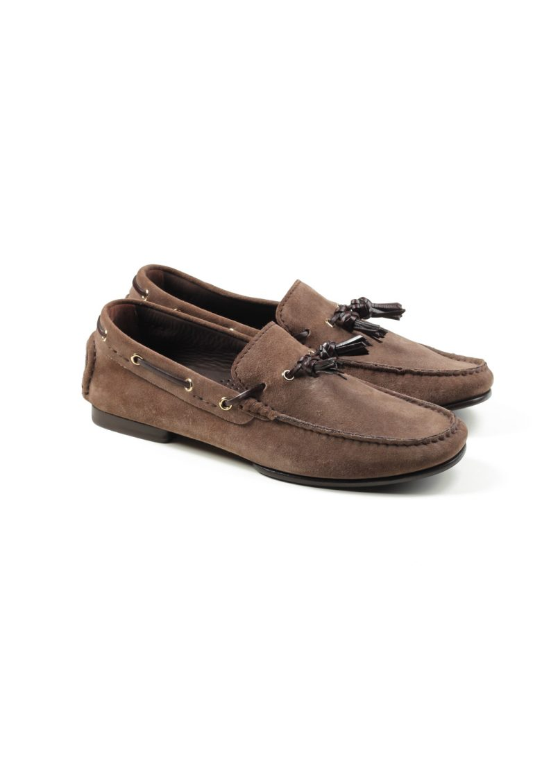 TOM FORD Grant Tassel Driver Shoes Loafers Size 8.5T Uk / 9.5T U.S. - thumbnail | Costume Limité