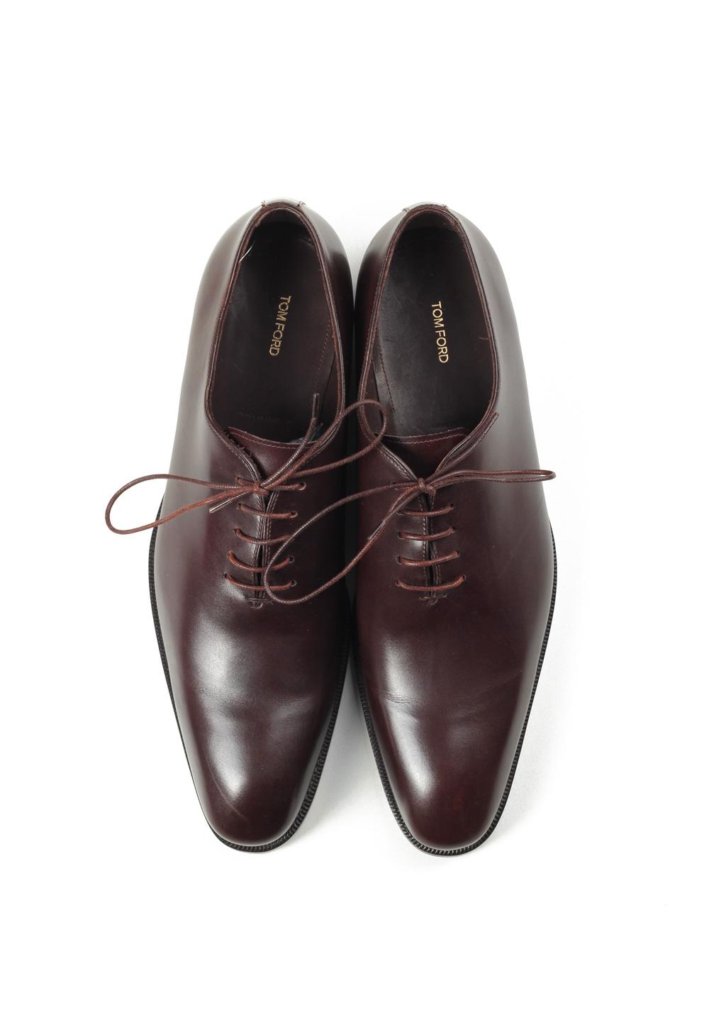 TOM FORD Gianni Whole-cut Oxford Shoes Size 8.5T Uk / 9.5T U.S. | Costume Limité