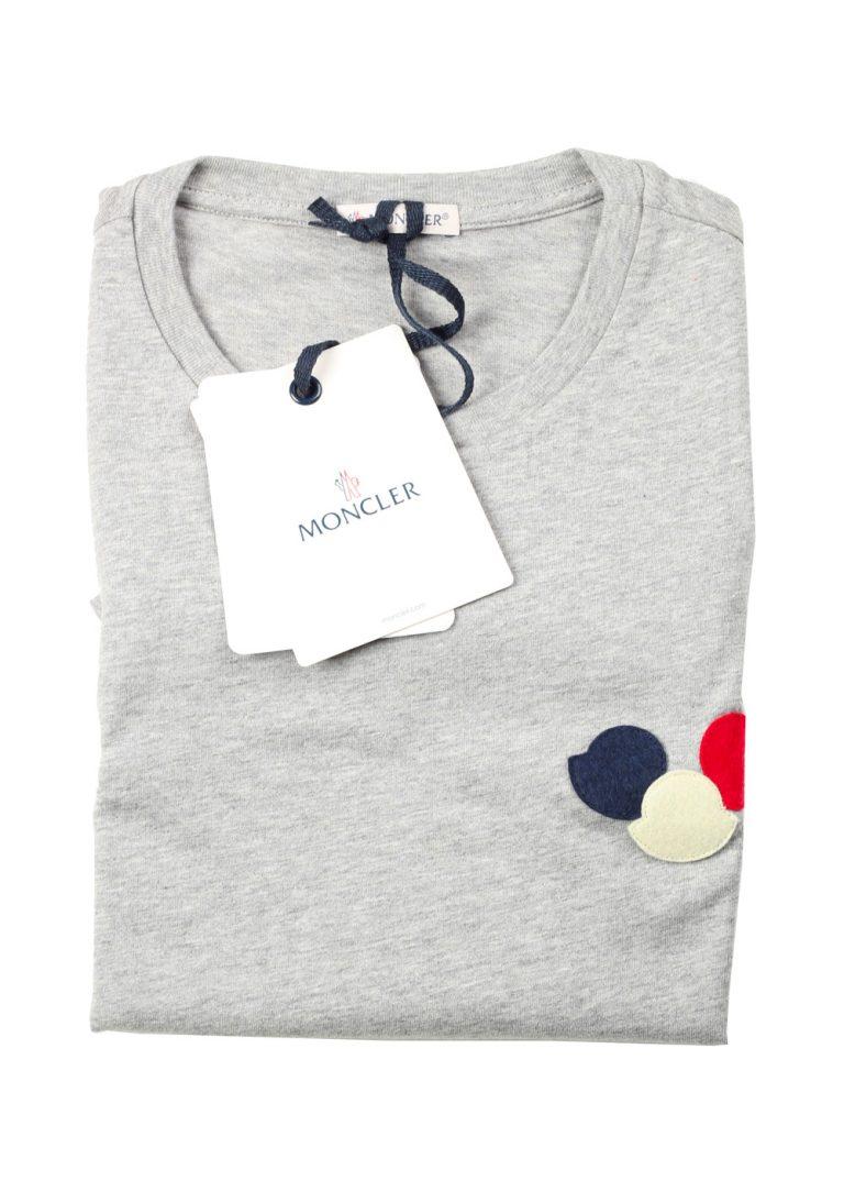 Moncler Crew Neck Tee Gray Shirt Size M / 38R U.S. - thumbnail   Costume Limité