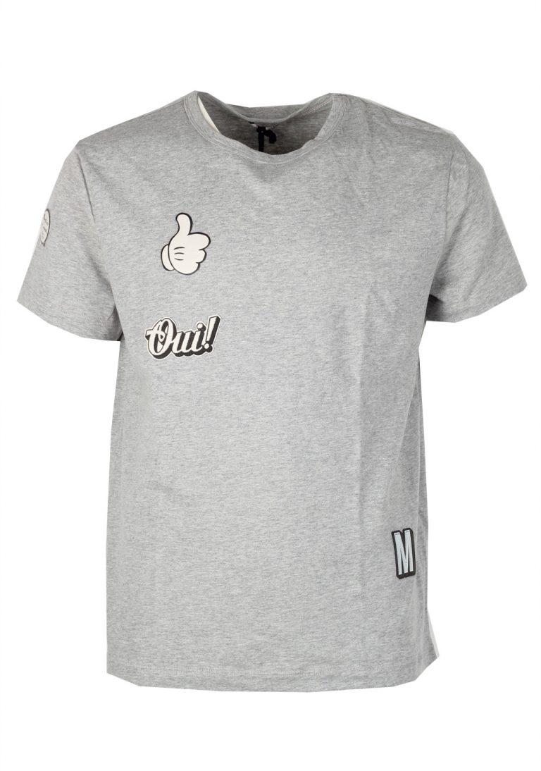 Moncler Crew Neck Tee Shirt Size S / 36R U.S. Gray - thumbnail | Costume Limité
