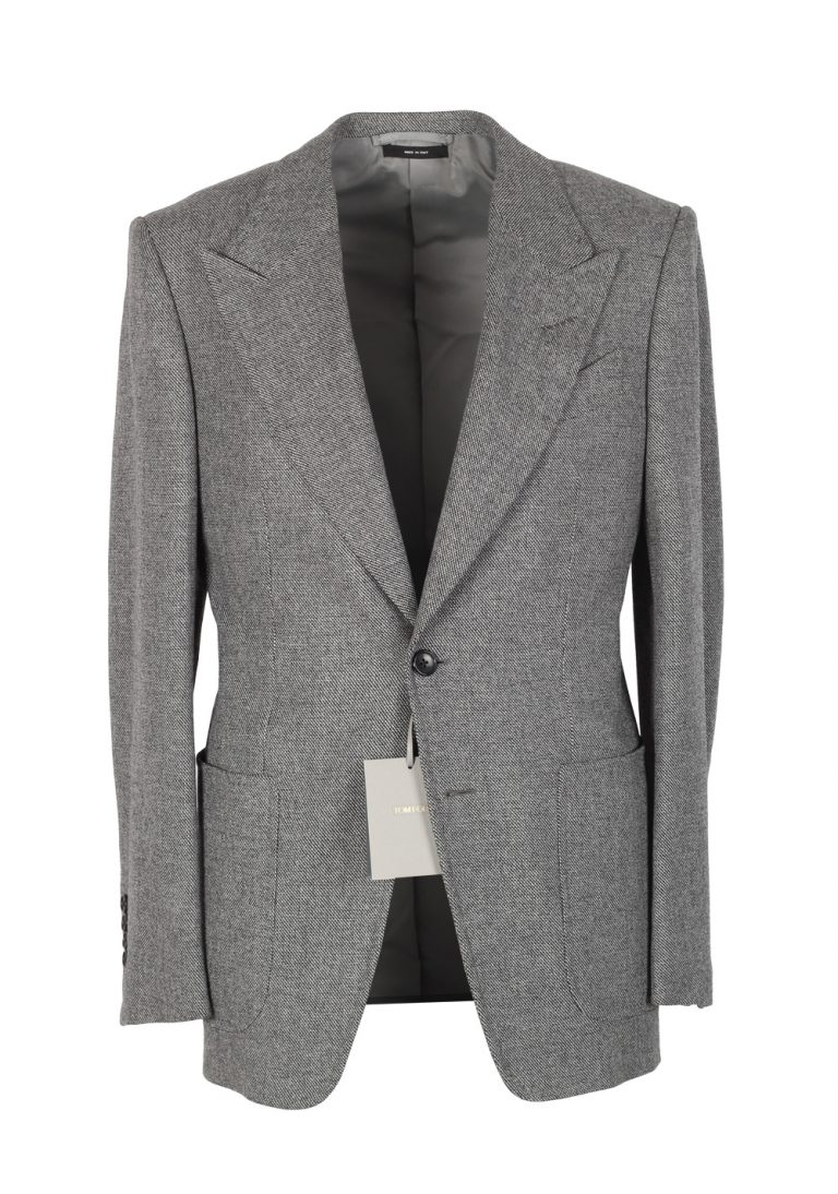 TOM FORD Spencer Gray Sport Coat Size 46 / 36R Wool Fit D - thumbnail | Costume Limité