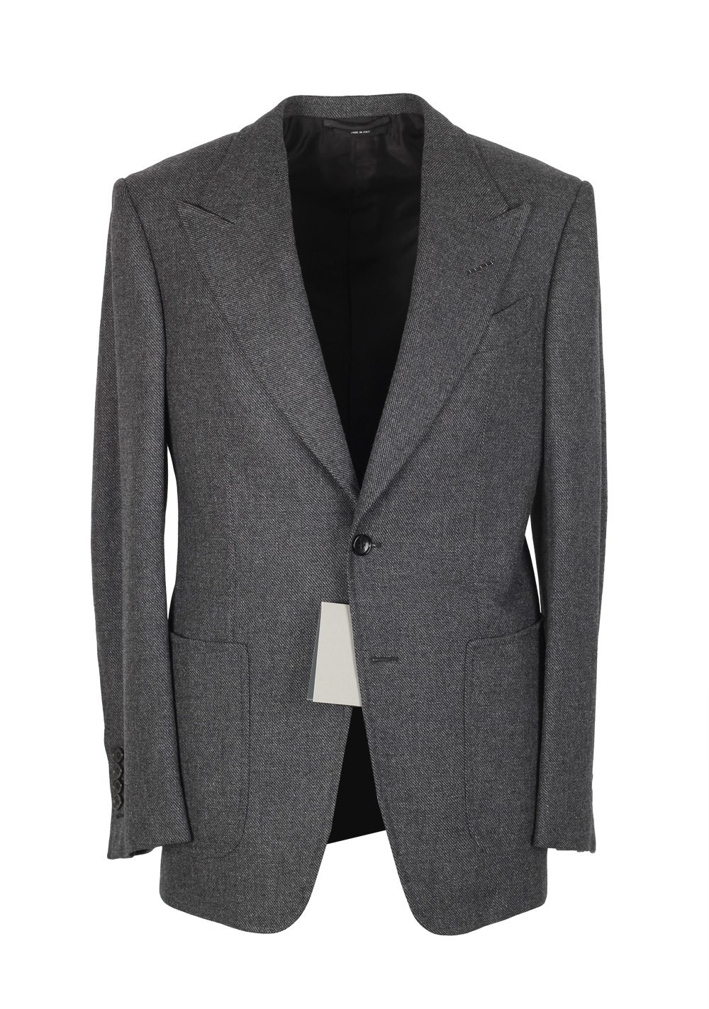 FORD Shelton Gray Sport Coat Size 46 / 36R Wool Cashmere | Costume ...