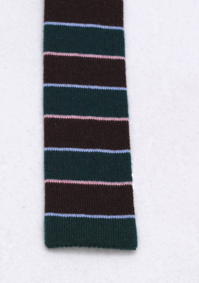 Borrelli Tie 100% Cashmere | Costume Limité