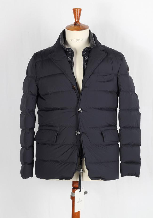 d66bdc8893b2 Moncler Rouillac Winter Coat Size 6   Xl   56   46R U.S. Blue Doudoune  Elastique   Costume Limité
