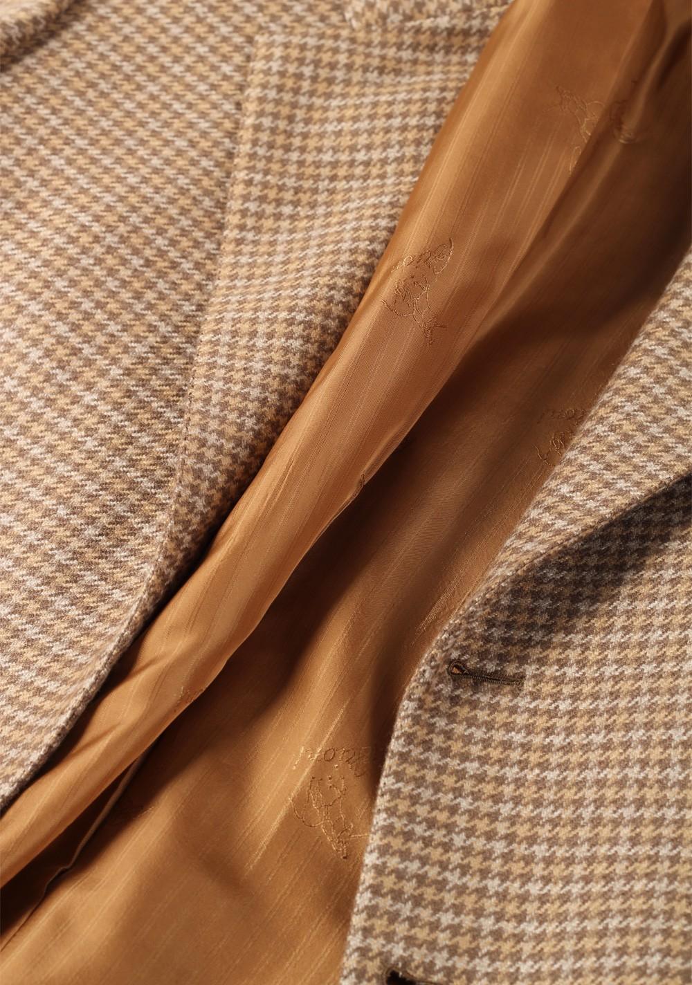 Brioni Beige Palatino Sport Coat Size 52 / 42R U.S. 100% Cashmere | Costume Limité