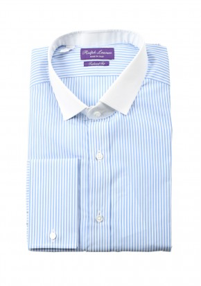 Ralph Lauren Purple Label Shirt Size 43 / 17 U.S. Tailored Fit - thumbnail | Costume Limité