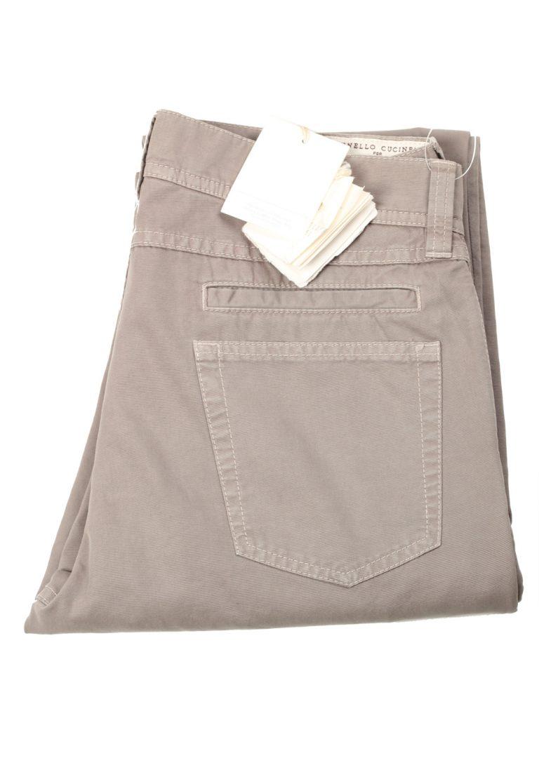 Brunello Cucinelli Beige Trousers Size 46 / 30 U.S. - thumbnail | Costume Limité